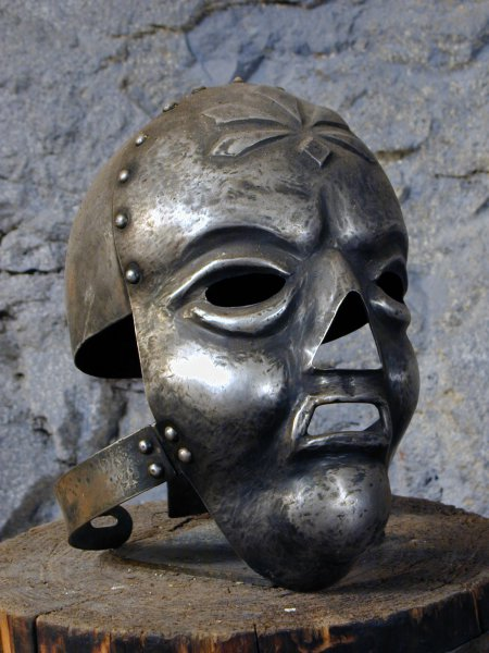 historical props torture devices mask